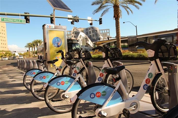 Bike Share Stations LV