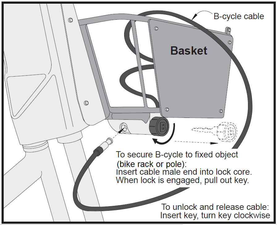 Bcycle Lock Instruction v2