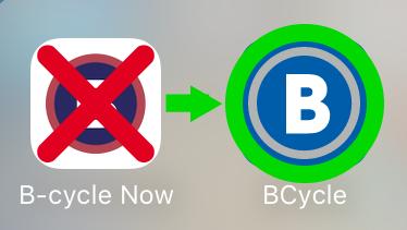 B cycle now vs Bcycle app