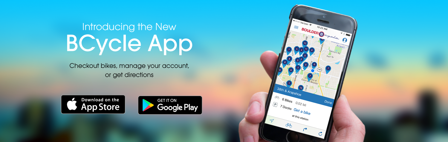 Checkout bikes, manage your account, or get directions
