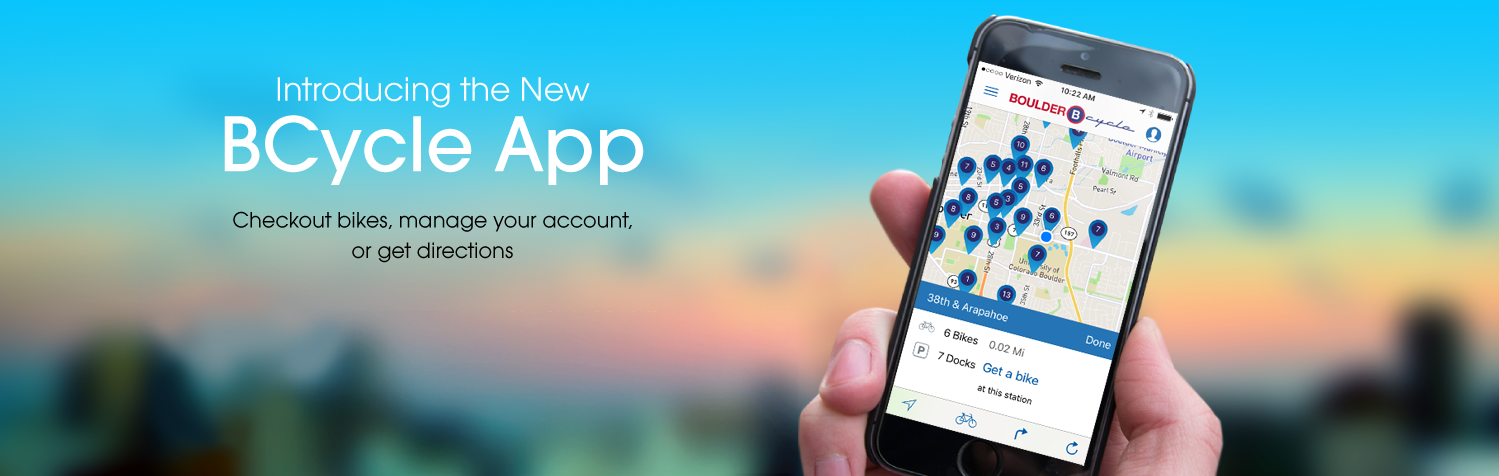 Introducing the new BCycle app—Checkout bikes, manage your account, or get directions