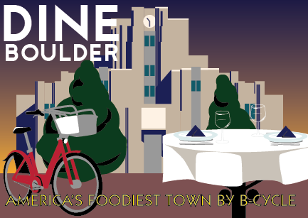 America's foodiest city by B-cycle