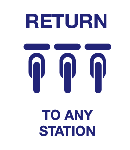 Return to any station