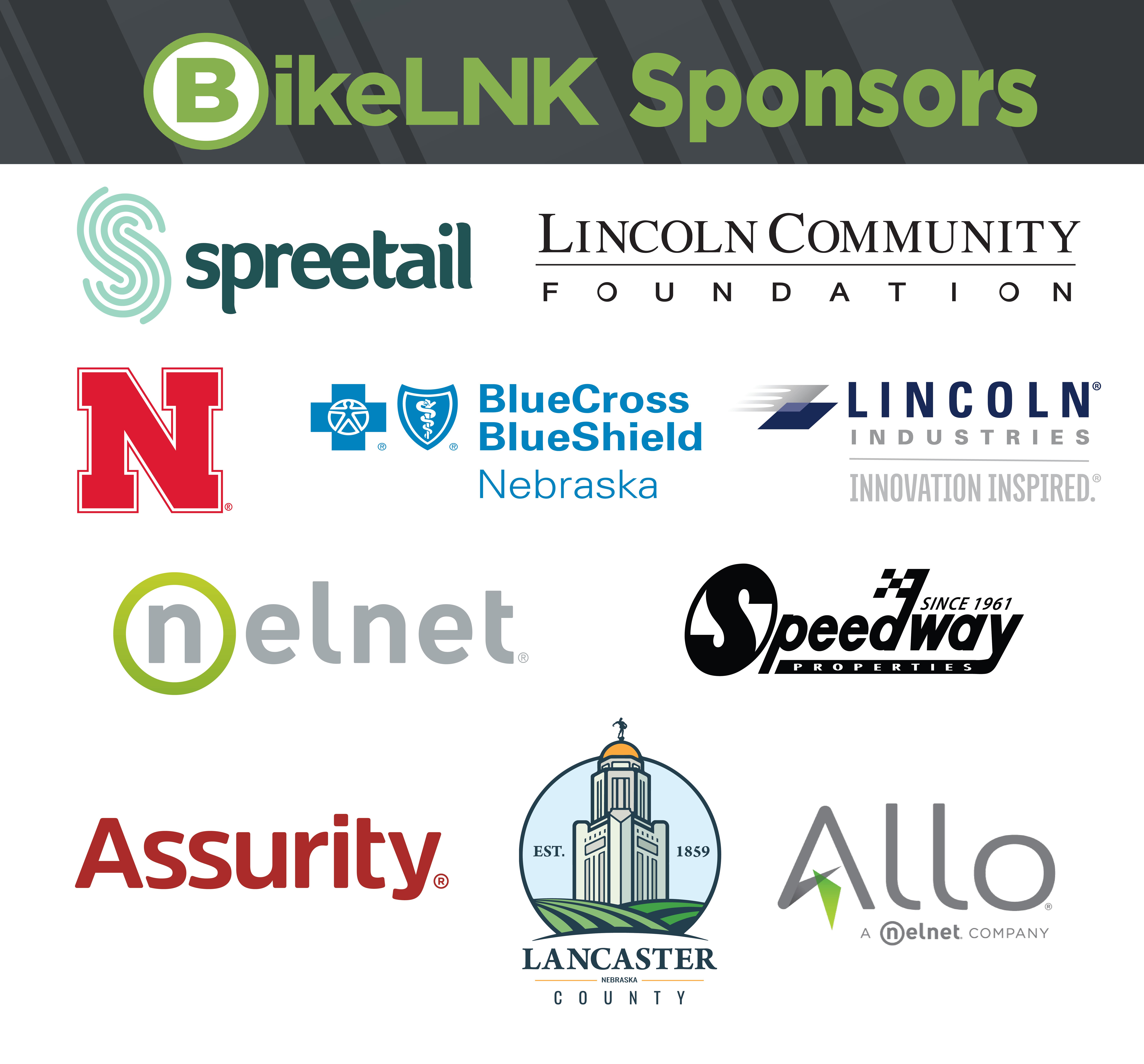 BikeLNK Sponsors 2020