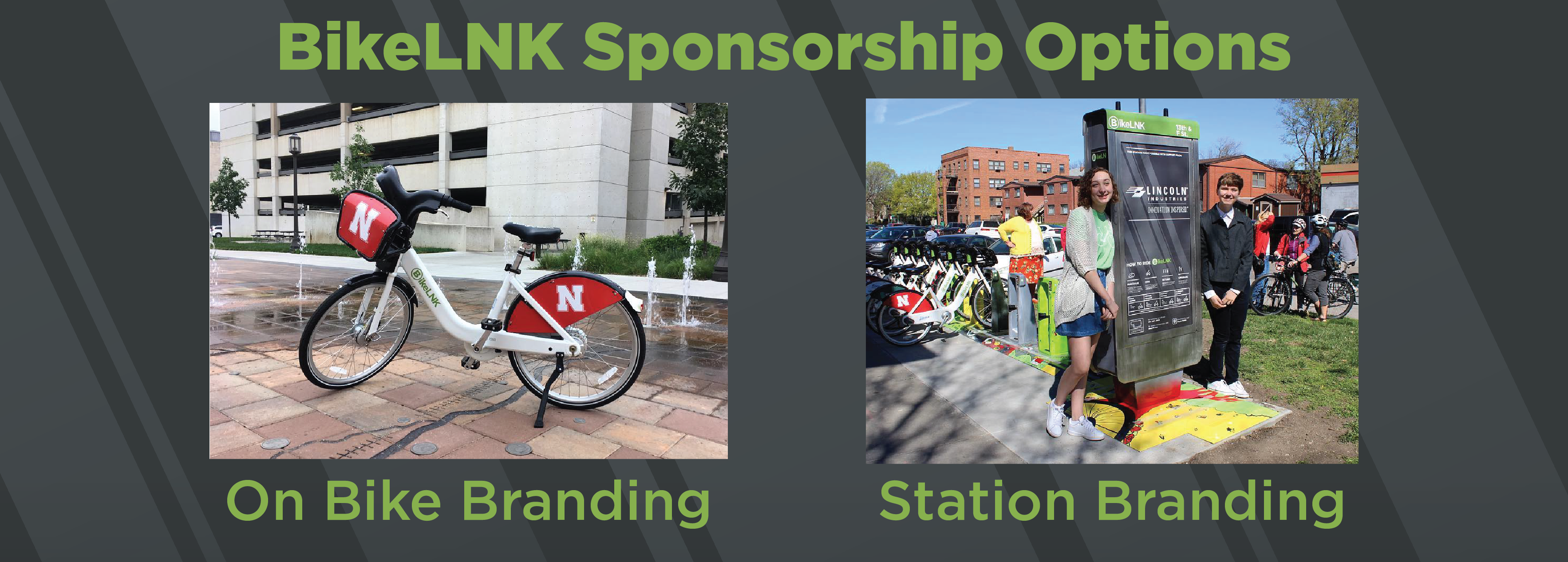 BikeLNK Sponsorship Options