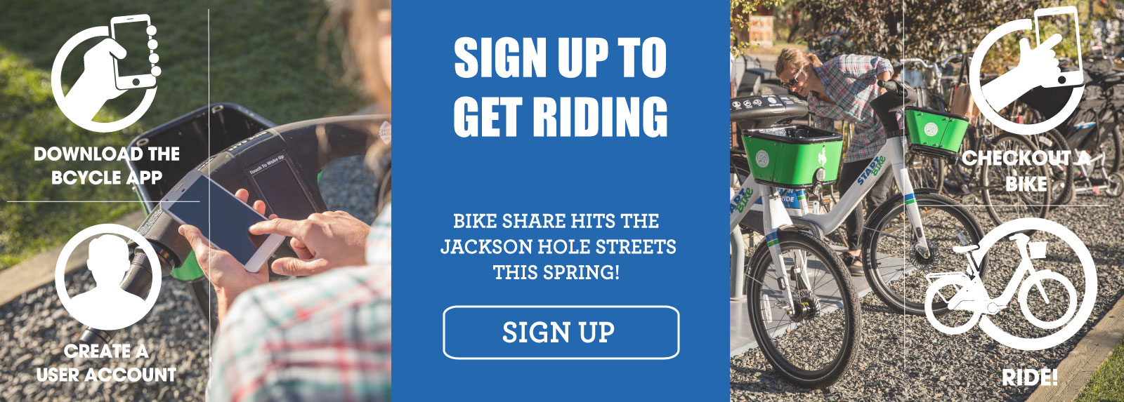 Sign Up to Ride