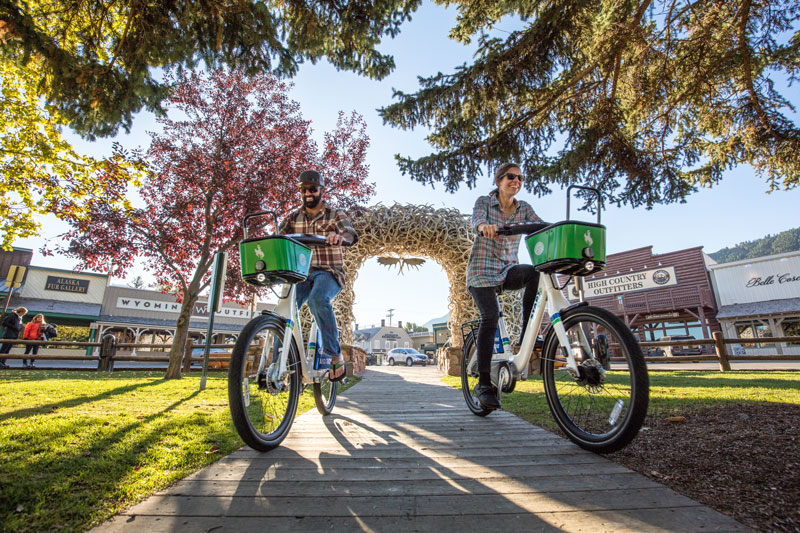 START Bikes on Town Square